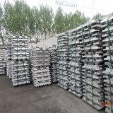 Lingot d'aluminium de la grande pureté 99.7% d'approvisionnement au prix bon marché