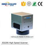 Galvanómetro de alta velocidad caliente del laser de la venta Jd2206 para la marca del laser