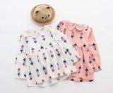 أطفال ملابس بنات أقمصة [ليتّل كيد] فصل صيف يطبع ثوب