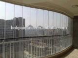 Verre feuilleté en verre architectural fait sur commande de certificat de la CE de Guangdong Chine