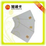 Microplaqueta do OEM RFID ou cartão de microplaqueta em branco do contato CI