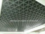 Kupferne überzogene Aluminiumplatten-dekorative Aluminiumplatte mit graviertem Muster