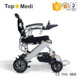 Topmediの小型の軽い電力の車椅子