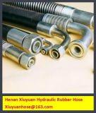 Boyau flexible de pétrole de boyau hydraulique tressé de non-métal