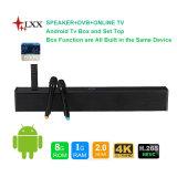 TV van de Doos van 5.1 TV van het Systeem van het Theater van het huis zette Androïde 4k uit Correcte Staaf met Bluetooth en dvb-T2