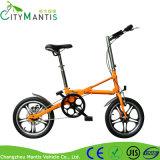 Kohlenstoffstahl-schnelles faltendes Fahrrad in 16inch