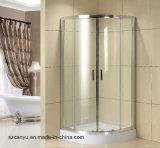 シャワー室のための緩和されたガラスのシャワーの区分