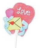 Zachte de Gelei van de valentijnskaart knalt Suikergoed voor Jonge geitjes
