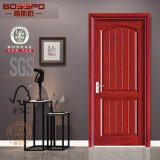 Solas puertas de base del rubor sólido hueco interior de madera (GSP6-003)