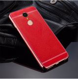 Xiaomiのための熱い販売の製品のLitchiのグレーンレザーの裏表紙のケース