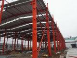Edificio de acero de la mayor nivel para el taller y el almacén, vertiente del acero