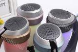 Form konzipierte Wirelss beweglichen Bluetooth Stereolautsprecher mit LED-Licht