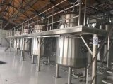 1000L reactor de acero inoxidable de reactores químicos (reactor de calefacción eléctrica)