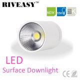iluminación blanca montada superficie SMD de Downlight LED de la MAZORCA de 10W LED
