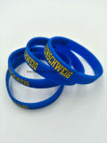 Kundenspezifische Silikon-Armbinden, Silikon-Armbänder für Förderung-Geschenke