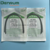 FDA van Ce van Denrum ISO Orthodontische thermaal Geactiveerde FDA van Ce van de Draden ISO van de Rechthoek Niti
