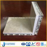 Panneau en pierre de marbre desserré par nid d'abeilles en aluminium pour des matériaux de construction