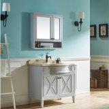 Шкаф белой ванной комнаты дуба краски американской санитарный (GSP14-026)