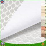 Tissu imperméable à l'eau d'arrêt total de franc de polyester tissé par textile à la maison pour le rideau en guichet