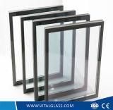 Decorativo piegato della finestra colorato di vetro/ha indurito il vetro modellato inciso acido