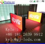 Forma do vendedor do telefone móvel grande que anuncia o indicador de diodo emissor de luz no projeto esperto do telefone