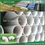 Canos de drenagem PVC-U de fábrica