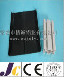 Perfil de alumínio perfurado 6063 T6, perfis de alumínio da extrusão (JC-W-10064)