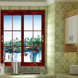 Wasserdichtes schönes schiebendes Glasaluminiumfenster mit Gitter-Entwurfs-Fabrik-Preis
