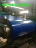 塗られたいろいろな種類のカラーは電流を通した鋼鉄コイル(PPGI/PPGL)に