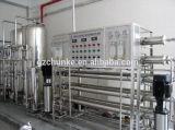 Sistema de tratamiento de aguas inoxidable industrial del gris de acero