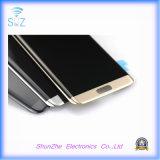 L'affissione a cristalli liquidi del telefono mobile per il bordo di Samsung S7 video lo schermo dell'Assemblea