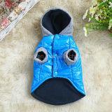 vestiti dell'animale domestico del cappotto & della maglia del cotone dell'indicatore luminoso di inverno del cane di modo