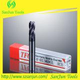 Molino de extremo de la capa de Naco de las herramientas de corte del carburo de tungsteno