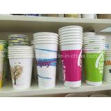 Taza de papel sana para la bebida fría