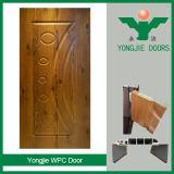 Puerta interior impermeable respetuosa del medio ambiente del estilo moderno WPC para el cuarto de baño del dormitorio