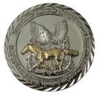 Medalha redonda do metal 2017 feito sob encomenda o mais novo com logotipo