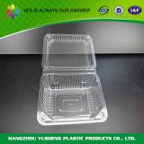 De duidelijke Plastic Doos van de Container van het Voedsel van het Compartiment van het Koekje