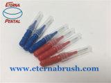 Cure-dent en plastique avec le balai pour la dent de nettoyage
