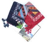 Soem-Form-Baumwollleinenschal Schal und Pareo für förderndes Geschenk