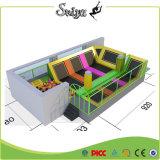 Akrobatik-Geräten-Trampoline-im Freien industrielle Trampolinen mit Schaumgummi-Vertiefung für Kinder