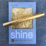 reale essbare Walzen-Papiershine-Papiere des Gold24k