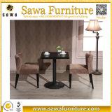 Lederner doppelter mit Seiten versehener Sofa-Gaststätte-Stand für Verkauf