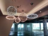 Luz de suspensão da esfera do restaurante do aço inoxidável (KAMD20850-750)