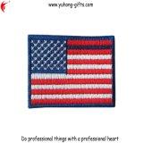 Национальный значок вышивки флагов страны для одежд (YH-EB142)