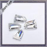 품질 보장 E/F 색깔 테이퍼 탄알 커트 Moissanite 다이아몬드