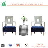 Новой стул отдыха гостиницы мебели конструкции самомоднейшей обитый тканью
