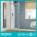 Алюминиевая дверь оси ливня складчатости с Tempered прокатанным стеклом (SE919C)