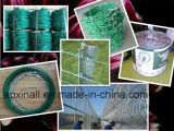 電流を通されるXinaoプラスチック上塗を施してある農業の塀の有刺鉄線