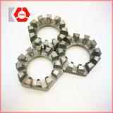 Pente a DIN 935 DIN 937 et noix de château encochée par hexagone de B M6-M52