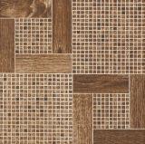 weiße glasig-glänzende keramische Fußboden-Fliese des Polierporzellan-3D